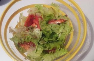 Салат из анчоусов (пошаговый фото рецепт)