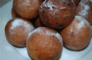 Творожные шарики (пошаговый фото рецепт)