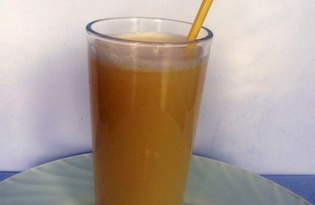 Гоголь-моголь фруктовый (пошаговый фото рецепт)