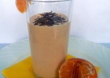 Мандариновый коктейль с мороженым (пошаговый фото рецепт)