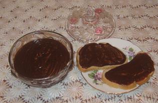 "Шоколадная паста ""Домашняя Нутелла"" (пошаговый фото рецепт)"
