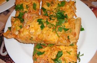 Нежная пицца (рецепт с пошаговыми фото)