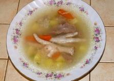 Суп с куриными потрошками (рецепт с пошаговыми фото)