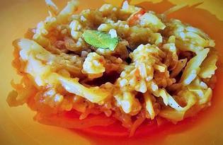 Тушеный рис с овощами (пошаговый фото рецепт)