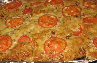 Запечённый картофель с квашеной капустой и грибами (рецепт с пошаговыми фото)