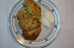 Картофельники с паштетом (пошаговый фото рецепт)