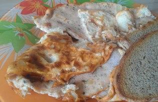 Томатный омлет с базиликом (пошаговый фото рецепт)