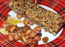 Батончики-мюсли (пошаговый фото рецепт)