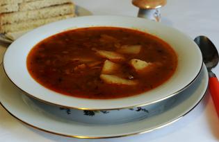Гороховый суп с бараниной и машем (пошаговый фото рецепт)