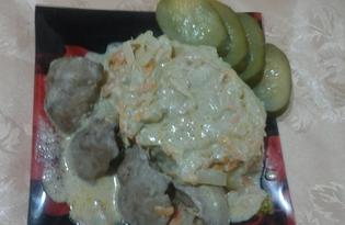 Нежная куриная печень с овощами (пошаговый фото рецепт)