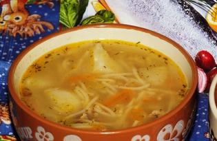 Суп с рыбными консервами (пошаговый фото рецепт)