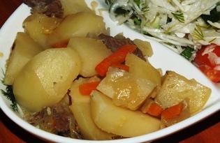 Картофлибже (картофельный соус по-кабардински) (пошаговый фото рецепт)