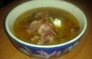 Суп Харчо с грецкими орехами (пошаговый фото рецепт)