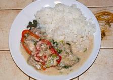 Рыба в кокосовом молоке (пошаговый фото рецепт)