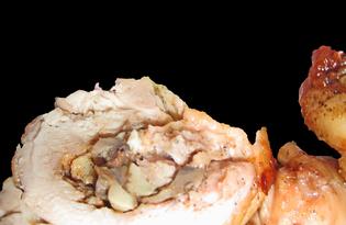 Крученики из куриных бедер (пошаговый фото рецепт)