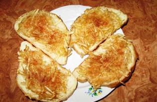 Яблочные гренки (рецепт с пошаговыми фото)