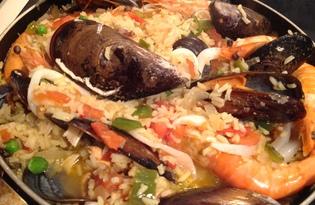 Паэлья по-андалусийски (рецепт с пошаговыми фото)