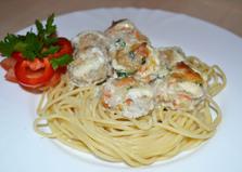Спагетти с фрикадельками (рецепт с пошаговыми фото)