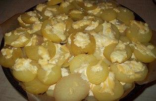 Картофель с сыром (пошаговый фото рецепт)