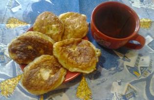Оладьи с яблоками и корицей (рецепт с пошаговыми фото)