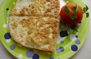 Омлет в лаваше (пошаговый фото рецепт)