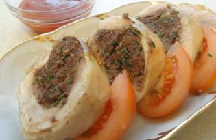 Окорочка, фаршированные печенью (рецепт с пошаговыми фото)