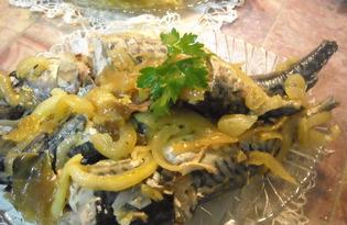 Скумбрия тушёная (пошаговый фото рецепт)