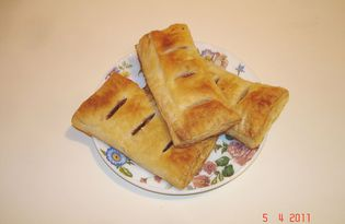 Ленивые конвертики (пошаговый фото рецепт)