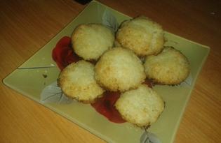Кокосовое печенье (пошаговый фото рецепт)