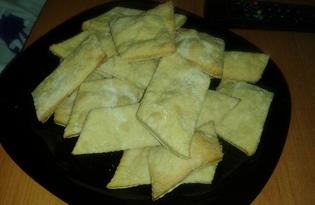 Слоеное печенье на пиве (пошаговый фото рецепт)