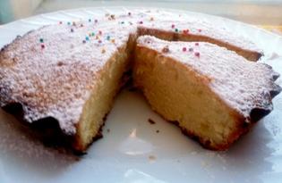 Маленький лимонный кекс (пошаговый фото рецепт)