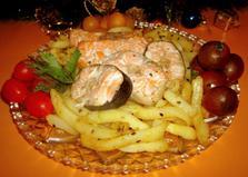 Рыба-гриль из микроволновки (рецепт с пошаговыми фото)