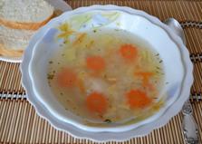 Супчик с рисом по-домашнему (пошаговый фото рецепт)