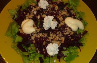 """Свекольный салат """"Здоровье"""" (рецепт с пошаговыми фото)"""