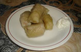 Голубцы с квашенной капусты (рецепт с пошаговыми фото)