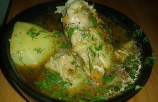 Чахохбили с курицей (пошаговый фото рецепт)