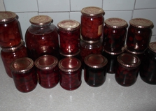 Черешневое варенье (пошаговый фото рецепт)