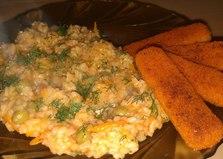 Рис с зеленым горошком (пошаговый фото рецепт)