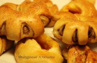 Фигурные плюшки (пошаговый фото рецепт)