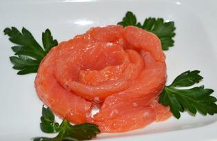 Семга соленая (пошаговый фото рецепт)