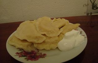 Вареники с картофелем (пошаговый фото рецепт)