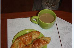 Круассаны к завтраку (пошаговый фото рецепт)