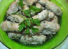 Куриные рулетики с грибами (пошаговый фото рецепт)
