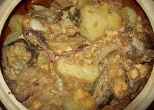 Рыба запеченная с картофелем (пошаговый фото рецепт)
