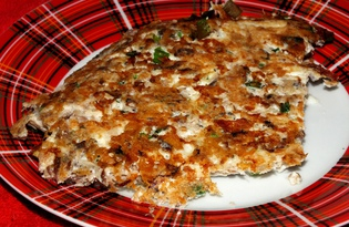 Омлет с рыбными консервами (пошаговый фото рецепт)