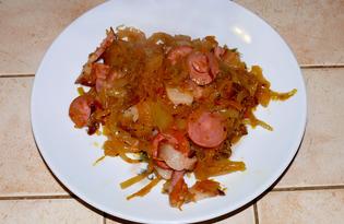 Солянка из квашеной капусты (рецепт с пошаговыми фото)