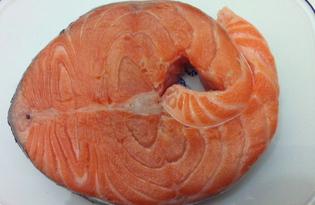 Малосольная семга (пошаговый фото рецепт)