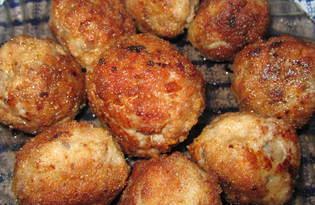 Грибные шарики (пошаговый фото рецепт)