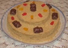 Торт «Медовый мишка» (пошаговый фото рецепт)