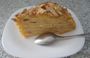"""Классический торт """"Наполеон"""" (пошаговый фото рецепт)"""